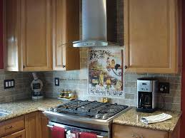 Mural Tiles For Kitchen Decor Tuscan Backsplash Tile Murals Tuscany Design Kitchen Tiles