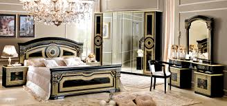 bedroom design table classic italian bedroom furniture. aida black wgold camelgroup italy bedroom furniture classic design table italian