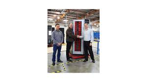 Autocrib Vending Machine Mesmerizing AutoCrib Hits Milestone With 4848th RoboCrib Industrial Vending Machine