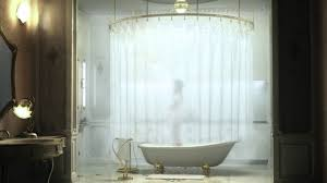 How to Convert Claw foot Tub Shower Curtain   Designs Ideas and Decors