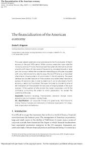 Business Analyst Resume Keywords Adorable Greta Krippner 48 'The Financialization Of The American Economy'