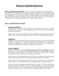 opening objective for resume objective resume sample fast food examples resumes general example