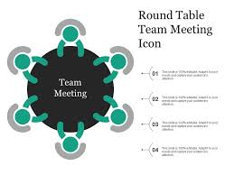 round table team meeting icon slide01 round table team meeting icon slide02 round table team meeting icon slide03 round table team meeting icon slide04