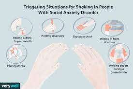 social anxiety disorder can cause shaking