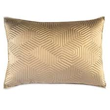 Buy Quilted Pillow Shams from Bed Bath & Beyond & DKNY Helix King Pillow Sham in Gold Adamdwight.com