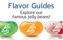 Jelly Bean Colour Chart Jelly Belly Flavor Guides