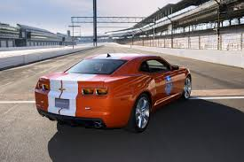 2010 Chevy Camaro SS Pace Car Heads to Indianapolis 500