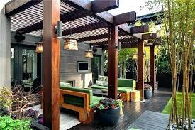 pergola patio roof ideas