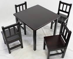 kid wooden table and chair set. 5 piece kids set kid wooden table and chair s