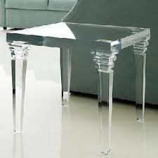 Crystal acrylic side console table acrylic coffee table