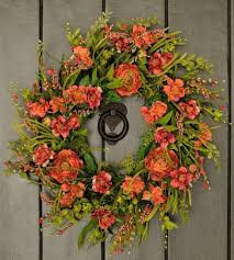 spring wreath for front doorAdorable Handmade Spring Wreath Ideas To Adorn Your Front Door
