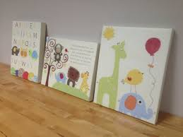 canvas wall prints for nursery