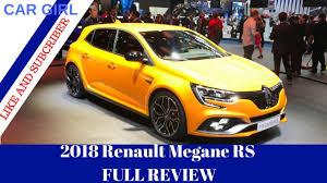 2018 renault megane rs review. wonderful 2018 2018 renault megane rs  full review for renault megane rs review