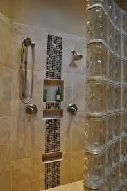 Walk In Tile Shower Mosaic Tile Shower Walk In Shower And Ceramic Mosaic Tile