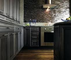 dark grey kitchen cabinets by cabinetry wall paint