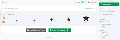Star Questions Inline Survey Question Need Stars Instead Of Boxes Qualtrics
