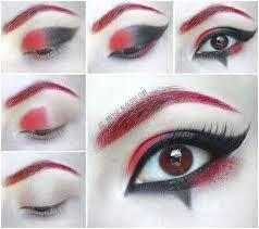 goth eyeshadow black tutorial cute makeup joker of pretty gothic goth eyeshadow minerals black makeup tutorial
