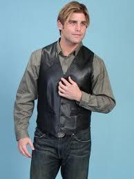 regular 109 99 cur 99 99 you save 10 00 scully men s black western leather vest