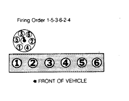firing order toyota supra 3 0 1990 fixya firing order diagram for a 1987 toyota supra an the order