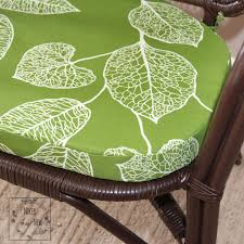 diy custom shaped chair cushions
