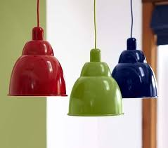 kids pendant lighting. Landon Metal Pendants - Pottery Barn Kids Pendant Lighting L