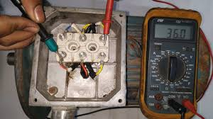 3 phase motor testing with multimeter