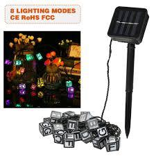 Rope Lights Game Best Solar String Lights 15 7ft 20 Led Rope 01 Sale Online Shopping Cafago Com