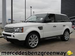 2009 Alaska White Land Rover Range Rover Sport Supercharged ...