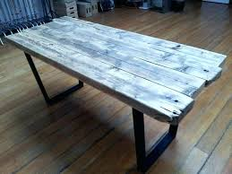 office wood desk. Reclaimed Wood Office Desk Distressed Dining Table And Room .