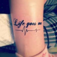 Good Tattoo Quotes Awesome Life Hurts A Lot Quote Don't Really Care For The Quote I Guess Cuz