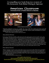 "a compelling new book from two of the creators of ""the  americanclassroompromo"