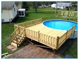 above ground round pool with deck. Above Ground Pool With Deck Decks Price Info Regarding  Pictures Plan Free Round Mymenumatch