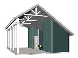 rv garage plans motor home garages