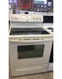 kenmore bisque colored kenmore glass top range w5th burner