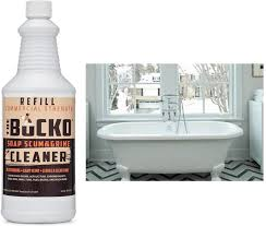 how to clean a bathtub naturally and