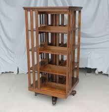 Photo 2 of 13 Antique Revolving Oak Bookcase  Original Finish  Danner -  Mission Style | EBay (beautiful