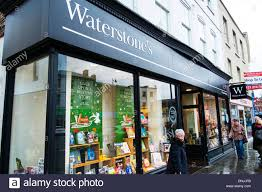 Waterstones Waterstone s book store shop outside sign entrance