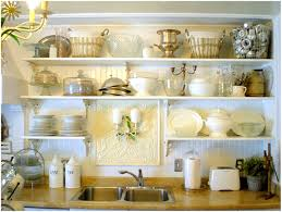 Open Kitchen Shelf Kitchen Countertop Shelf Ideas Refresheddesigns Trend To Try Open