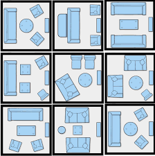 Room Layout Living Room How To Efficiently Arrange The Furniture In A Small Living Room