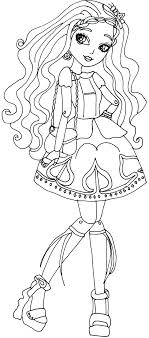Ever After High Briar Beauty Coloring Pages - GetColoringPages.com