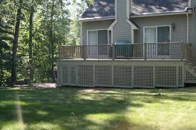 Enclosed deck ideas Patio Porch Enclose The Area Under Your Deck Chiroassociatesus What To Use To Enclose The Area Under Your Deck