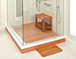 teak shower mat44