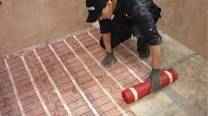 inspirational heated tile floor installation heated tile floor inside how to install heated tile floor decorating