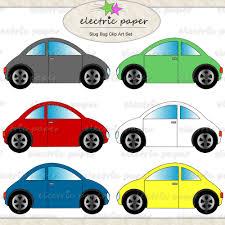 Cars VW Bug Clip Art VW Beetle Clip Art Set slug bug