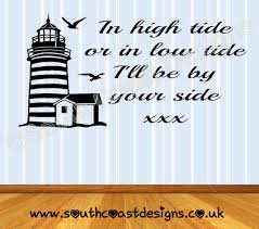 Lighthouse Quotes Fascinating Lighthouse In High Tide Quote Nautical