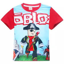How To Sell Clothes On Roblox Roblox Boys 105 155cm Body Height Cotton T Shirts Color Red Intl