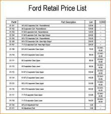 Price Sheet Template. Price List Template Free Word Excel Pdf Psd ...