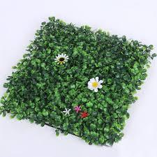 garden mat. 100pcs artificial grass plastic boxwood mat topiary tree milan garden home store wedding decoration free l