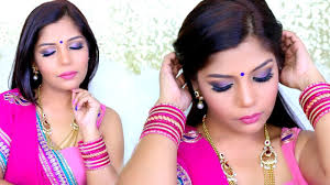 karva chauth dussehra garba festive indian makeup tutorial superprincessjo you