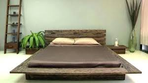 decoration: Low Profile King Bed Frame Plan Amazing Wooden. Low ...